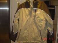 technical ski jacket large with rocco rescue beacon built in with matching trousers used twice