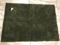 Next comfy twist *New* jungle green rug 120 x 170cm