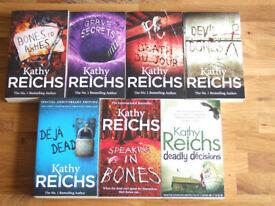 Kathy Reichs: Temperance Brennan 7 Book Bundle. NEW condition