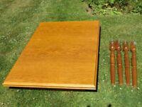 Extendable dining table 120cm x 80cm