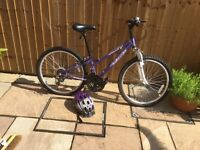 "Girls 12"" frame bicycle for sale excellent condition hardly used"