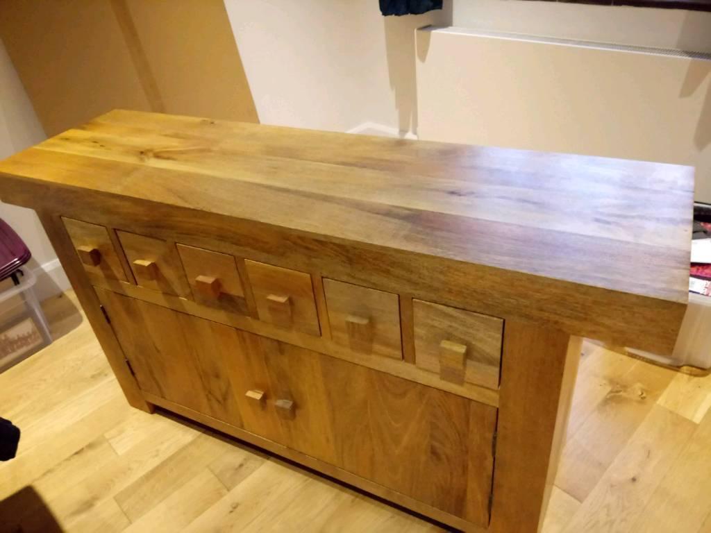 Solid mango sideboard from Oak Furniture Land | in Croydon ...