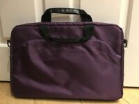 Logik laptop carry bag/case PURPLE