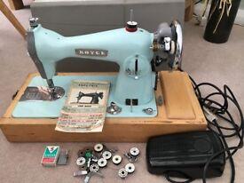 Royce Electric Sewing Machine Vintage