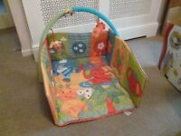 BABY GYM / PLAYMAT - MOTHERCARE - IMMACULATE