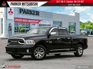2015 Ram 1500 LARAMIE LIMITED, HEMI, CREW, NAVI, CAM, LEATHER!