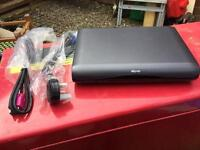 Sky HD Box With New Genuine Sky Cables
