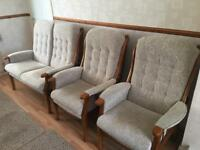 2 seater & 2x single standard sofa chair! Sell £400 o.n.o (worth £1,500) 20 months old!