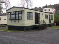3 Bedroom DG & CH caravan for hire on holiday park in South Ayrshire near the Galloway Forest