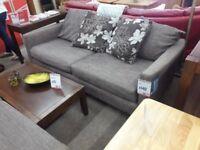 Grey 2 + 2 Fabric Suite