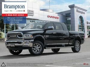 2016 Ram 3500 LARAMIE LONGHORN | TRADE-IN | CUMMINS TURBO DIESEL