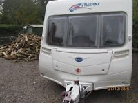 Bailey Pageant series 6 / 2007 / 4 berth with MOTOR MOVER