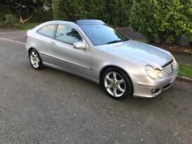 2007(57) MERCEDES C180 K SPORT EDITION AUTOMATIC *90,000 MILES* *PANORAMIC ROOF* *LEATHER INTERIOR*