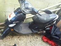 Peugeot V 2012 Clic 50cc Restricted 4 stroke Moped