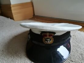 Royal Navy Petty Officers Hat With Bullion Ba