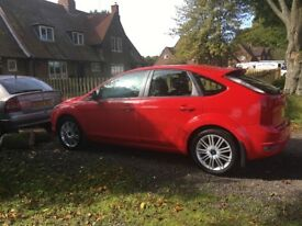 Ford Focus zetec 125 FFV for sale