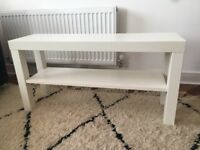 FREE IKEA Lack TV Bench White (Used, Good Condition - Manchester)
