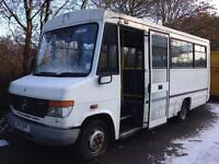 Mercedes Vario 4.2 614 mwb Auto 2002, only 52000km, 2 owners