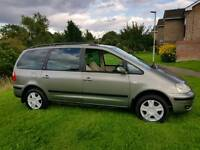 2002 FORD GALAXY 1.9 TDI DIESEL 1 YEARS MOT 7 SEATER VERY ECONOMICAL SERVICE HISTORY
