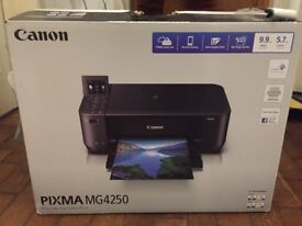 Barely used Pixma MG4250 Printer FOR SALE