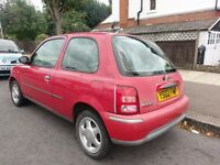 nissan micra 1.0 2002 drives very well MOT bargain