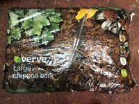 Chipped bark large 100l bags
