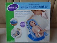 Deluxe Baby Bather, Changing Box Bundle