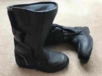 Women's Aqua Motorbike boots uk4