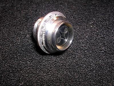 Amphenol 1 Pin Conn M Cable Mount 80mc1mc Nos