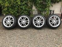 "18"" Mercedes AMG split Alloy wheels and tyres"