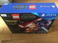 PS4 1tb Star Wars Console Brand New with Lego game, Star Wars bluray and controller