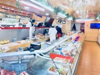 Halal Meat Shop Running Business For Sale in Goodmayes