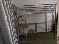 Metal Bunk bed for sale