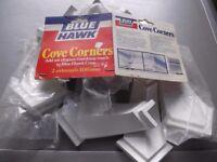 11 Blue Hawk 100mm external cove corners - much cheaper than eBay, Wickes etc.