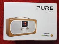 Pure Evoke H6 Stereo DAB+/FM Radio Bluetooth Music Streaming Alarm VL-62972 Oak