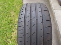 """225 50 17"""" Continental Part Worn Tyre 5.5mm Tread Depth * UK WIDE POSTAGE AVAILABLE*"""