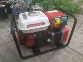 Honda 1500 KVA 240v / 110v Generator