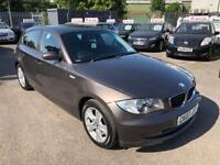 BMW 1 SERIES 116i SE PETROL 6 SPEED 5 DOOR 2007 /2 KEYS /SH /8 MONTHS MOT /HPI CLEAR