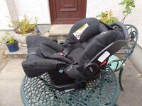Graco child's car seat