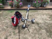 Golf Taylor Made golf stand bag & trolley Cippenham