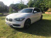 BMW 118i Sport 2012 in white