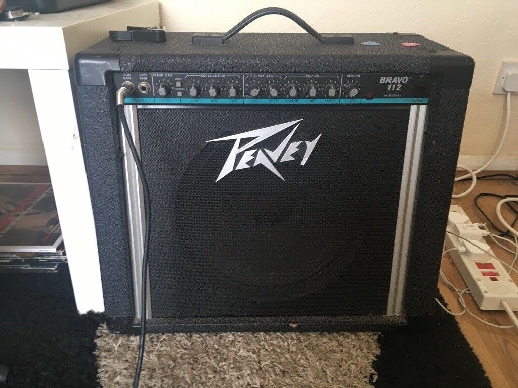 Peavey Bravo 112 All Tube Amp 25 Watt 1x12 Combo In Bollington Power Amplifier