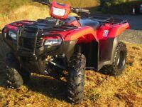 Honda TRX500 Foreman Quad Bike Agri Road Registered