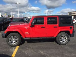 2012 Jeep Wrangler Unlimited SAHARA | CRUISE CONTROL | CLIMATE C Cambridge Kitchener Area image 2