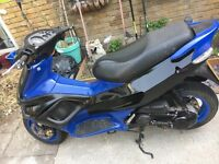 Gilera runner 70cc registered as a 50