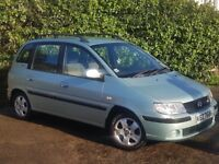 HYUNDAI MATRIX MPV 1.6 2006 FULL MOT 56,000 £825 ONO