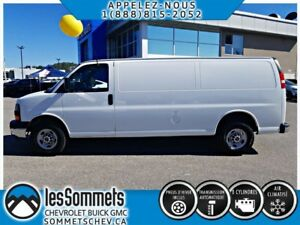 2017 GMC SAVANA CARGO 2500 AIR**GR.ELECTRIQUE**V8**CARGO