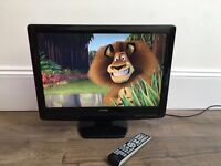 Toshiba 22inch LCD TV with built in DVD player