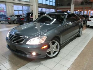 2009 Mercedes-Benz S-Class 550 4MATIC AMG PKG FULLY LOADED