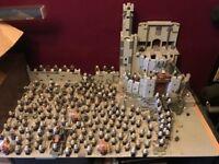 Custom Built Lord of The Rings Helms Deep Lego Set